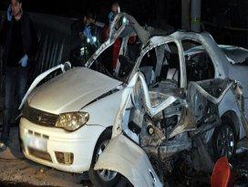 Seyir halindeki otomobil patladı: 1 ölü!