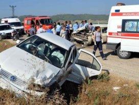 Trafik kazalarında en büyük pay sürücülerin