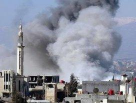 Suriyede rejim misket bombaları kullanıyor