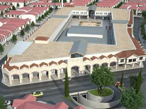 Konyada eski buğday pazarına Tarihi Proje