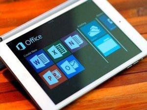 Microsoft Office iPad uygulamalarına rekor talep