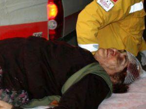 Oğlunun kavgasını ayıran anne yaralandı
