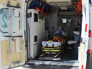 Alzheimer hastası oyunu ambulansta kullandı