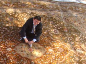 24 milyon ilmekli Osmanlı motifli halı