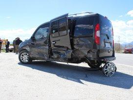 Konya'da zincirleme kaza: 4 yaralı