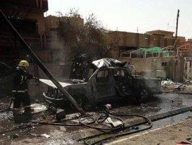 Irakta karargaha bombalı saldırı