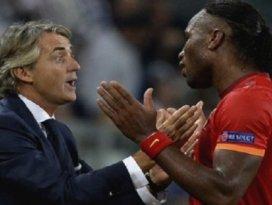 Manciniden Drogba için şok sözler