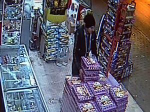 Yumurta hırsızları güvenlik kamerasında