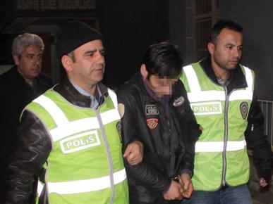 Konyada bıçaklı gaspçıya 5 yıl hapis cezası