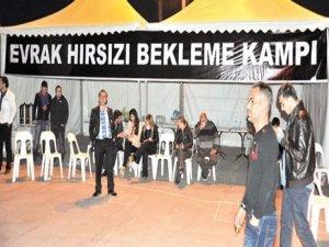 Antalyada evrak nöbeti