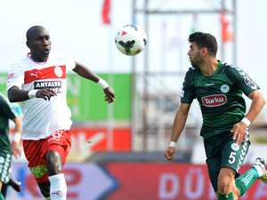 T.Konyaspor sonunu getiremedi; 1-1