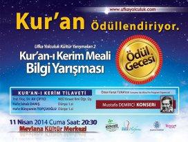 Kur'an-ı Kerim meal bilgi yarışmasında ödül heyecanı