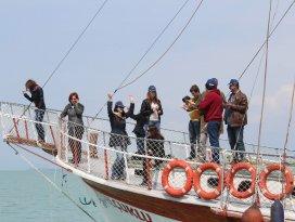 Yabancı lise öğrencileri Beyşehir'de