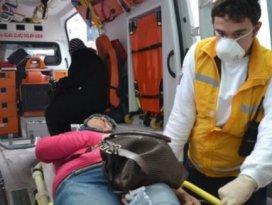 30 işçi metan gazından zehirlendi