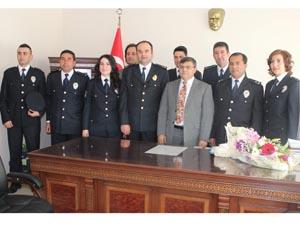 Beyşehir Emniyetinden Kaymakama ziyaret