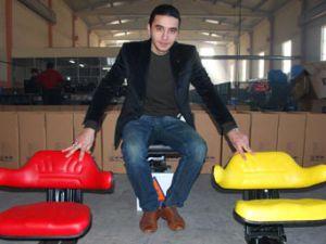 Konya dünya markalarına koltuk üretiyor