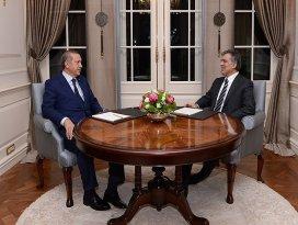 Gül Başbakan Erdoğanı kabul etti