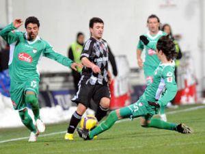 Konya Şeker futbol oynayıp kaybetti