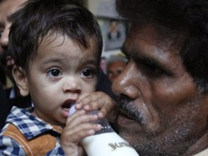 Cinayetten yargılanan 9 aylık bebeğe beraat