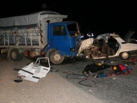 Konyada feci kaza: 4 ölü 5 yaralı