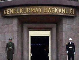 TSKdan flaş açıklama: Ateş açan teröristlere..