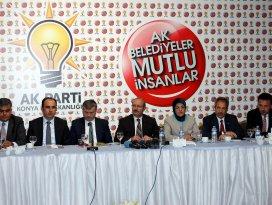 AK Parti Konya İl Başkanlığı seçim sürecini değerlendirdi