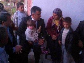 Başkan Özgüven Cengiz ailesinin çocuklarına sahip çıktı