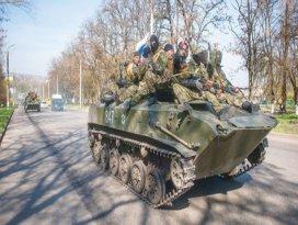 Rus tankları Ukraynada
