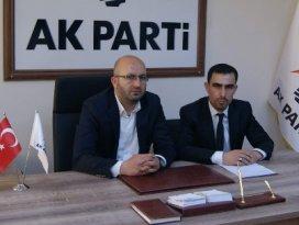 AK Partili Başkana makamında saldırı