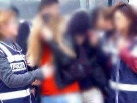 Fuhuş operasyonunda 9 kişi tutuklandı