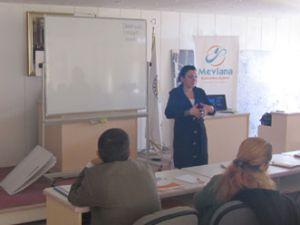 Mevka Karapınar'da Proje Eğitimlerini Tamamladı