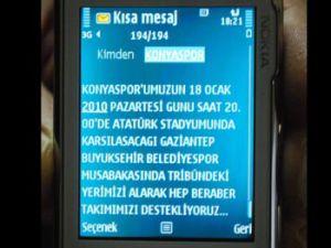 Konyaspor 100 bin sms ile taraftar bekliyor