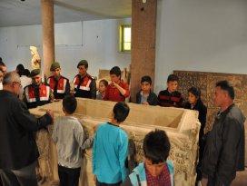 Turizm haftasında'nda çocuklar müzeleri gezdi