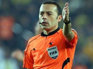 UEFAdan Cüneyt Çakıra dev görev!