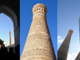 Cengiz Hanın önünde eğildiği minare