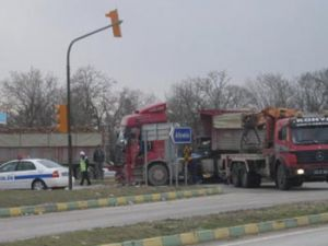 Ankara yolunda kaza!!!