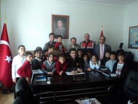 Seydişehir'de Jandarmaya anlamlı  ziyaret