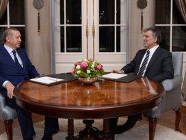 Gül ve Erdoğan bugün biraraya geliyor