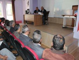 Beyşehir'de sınav güvenliği toplantısı yapıldı
