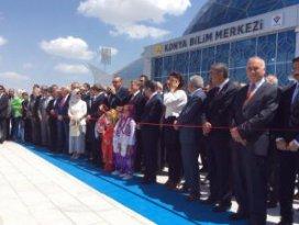 Başbakan Erdoğan Konyada Bilim Merkezini Açtı