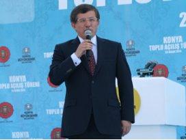 Başbakanımız Konyada vuslata erişiyor