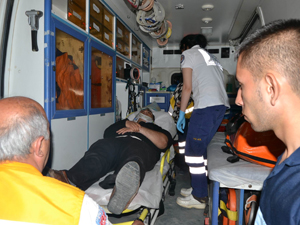 Konyada iki otomobil çarpıştı: 1 yaralı