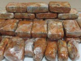 Şanlıurfada 46 kilo uyuşturucu ele geçirildi