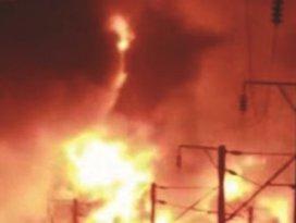 Tren istasyonunda korkunç patlama