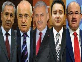 Ak Partide 2015te aday olamayacak isimler