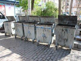 Çöp konteynerleri yer altına alınacak