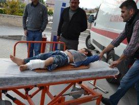 Üzerine bahçe kapısı düşen çocuk yaralandı