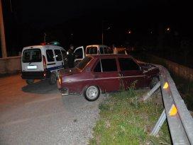 Kızı kaçıran şüpheli kaza yapınca yakalandı