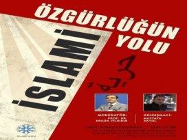 TYBde Özgürlüğün İslami Yolu konferansı