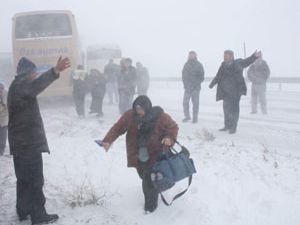 Kar ve soğuk kötü yakaladı